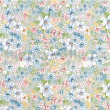 Samolepící tapety  - květy 45 cm x 15 m