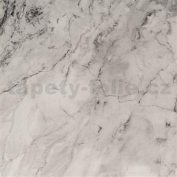 Samolepící tapeta mramor šedý  - 67,5 cm x 15 m