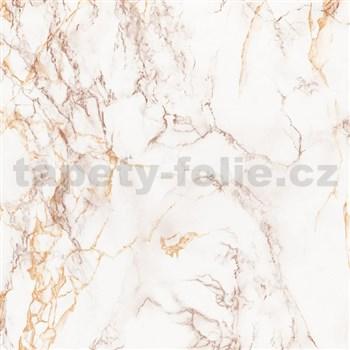 Samolepící tapety - mramor Cortes hnědý 45 cm x 15 m