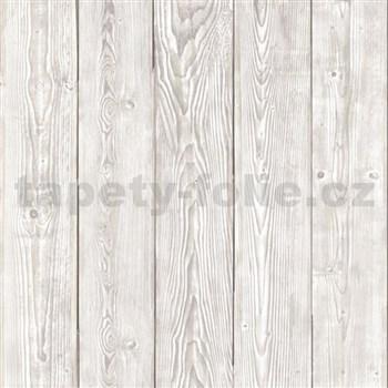 Samolepící tapeta staré dřevo šedé  - 67,5 cm x 15 m