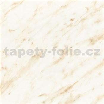 Samolepící tapety  - mramor Carrara béžová 45 cm x 15 m
