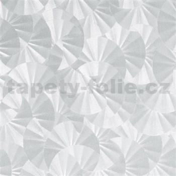 Samolepící tapety transparentní vločky 45 cm x 15 m