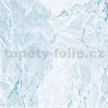 Samolepící tapety - mramor Cortes modrý 45 cm x 15 m