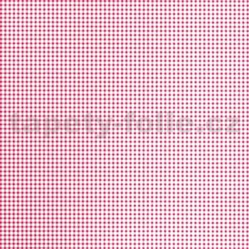 Samolepící tapety - káro růžové 45 cm x 15 m