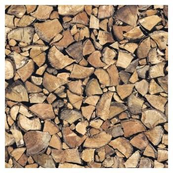 Samolepící tapety - palivové dřevo 45 cm x 15 m