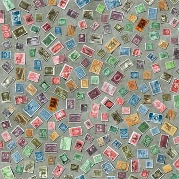 Samolepící tapety - Stamps 45 cm x 15 m