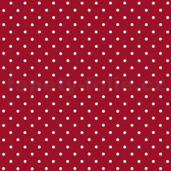 Samolepící tapety - Peterson červená s puntíky 45 cm x 15 m