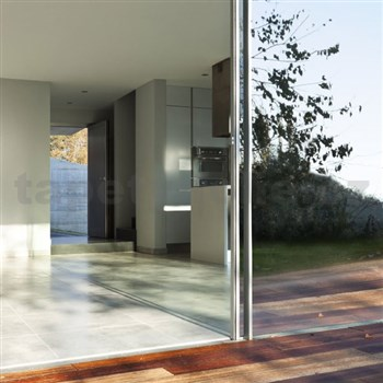 Samolepící tapety zrcadlová průhledná 67,5 cm x 1,5 m (cena za kus)