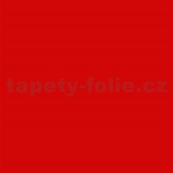Samolepící tapety - červená matná 90 cm x 2,1 m (cena za kus)