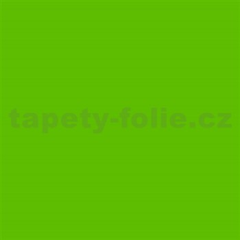 Samolepící tapety - zelená matná 67,5 cm x 2 m