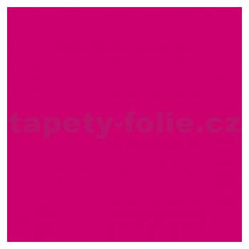 Samolepící tapety - tmavě růžová matná 67,5 cm x 2 m (cena za kus)