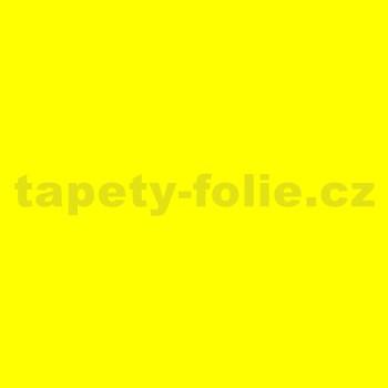 Samolepící tapety - žlutá lesklá 67,5 cm x 2 m