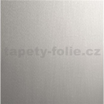 Samolepící tapeta metalická ocel - 67,5 cm x 1,5 m (cena za kus)