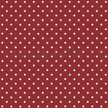 Samolepící tapeta puntíky červené  - 45 cm x 2 m (cena za kus)
