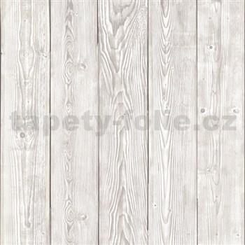 Samolepící tapeta staré dřevo šedé  - 90 cm x 2,1 m (cena za kus)