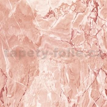 Samolepící tapety  - mramor Cortes rezavý 90 cm x 15 m