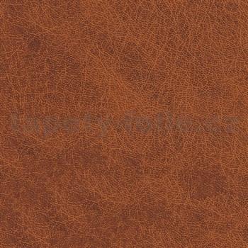 Samolepící tapety - kůže hnědá 90 cm x 15 m