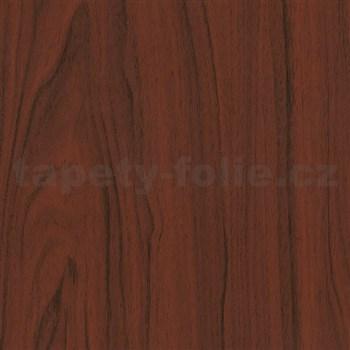Samolepící tapety  - mahagon tmavý 67,5 cm x 15 m