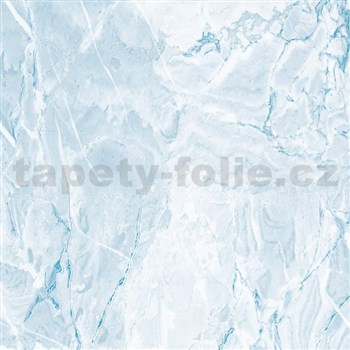 Samolepící tapety  - mramor Cortes modrá 67,5 cm x 15 m - DOPRODEJ