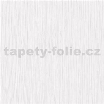Samolepící tapety - bílé dřevo mat 67,5 cm x 15 m