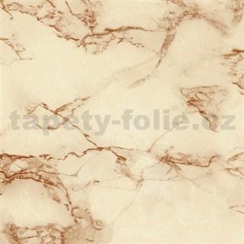 Samolepící tapety  - mramor Vario béžová 67,5 cm x 15 m