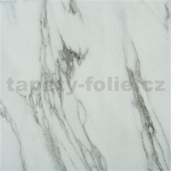 Vinylové samolepící podlahové čtverce Classic mramor světle šedý rozměr 30,5 cm x 30,5 cm