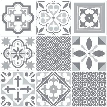 Vinylové samolepící podlahové čtverce Classic s orientálním vzorem rozměr 30,5 cm x 30,5 cm