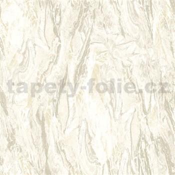 Vliesové tapety na zeď Nubia mramor světle hnědý