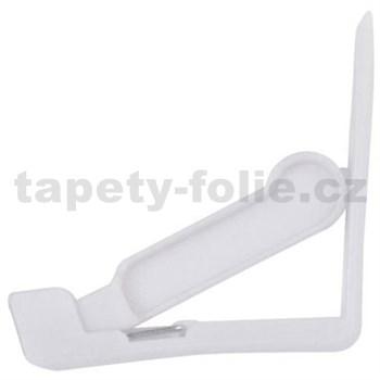 Spona na ubrus klipy bílé 4 ks v balení