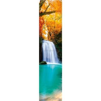Samolepící dekorační pásy lesní vodopád rozměr 60 cm x 260 cm