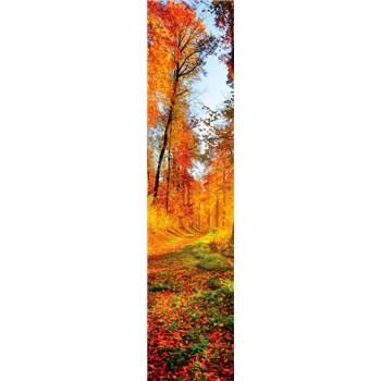 Samolepící dekorační pásy les na podzim rozměr 60 cm x 260 cm
