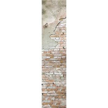 Samolepící dekorační pásy cihlová stěna s omítkou rozměr 60 cm x 260 cm