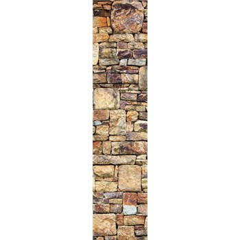 Samolepící dekorační pásy kamenná stěna rozměr 60 cm x 260 cm