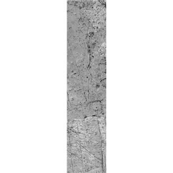 Samolepící dekorační pásy beton šedý rozměr 60 cm x 260 cm