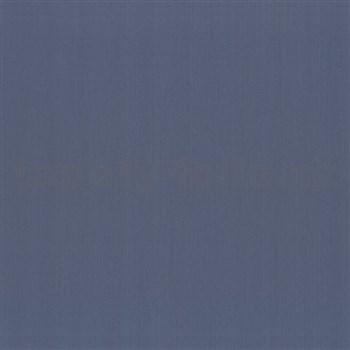 Vliesové tapety na zeď z kolekce Delight - jednobarevná modrá - SLEVA