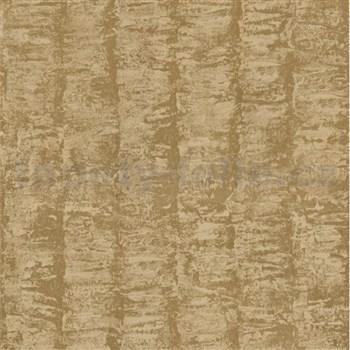 Luxusní vliesové tapety na zeď G.M.Kretschmer Deluxe pruhy zlaté