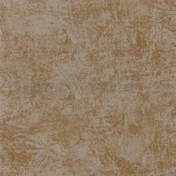 Vliesové tapety na zeď La Veneziana - měděné s metalickým efektem