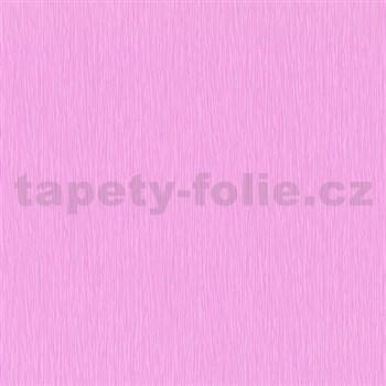 Papírové tapety na zeď Dieter Bohlen - strukturované růžové