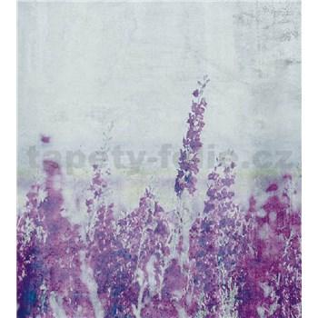 Vliesové fototapety luční květy rozměr 225 cm x 250 cm
