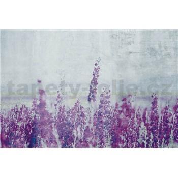Vliesové fototapety luční květy rozměr 375 cm x 250 cm