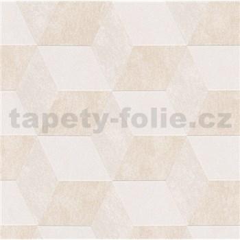 Vliesové tapety na zeď Michalsky 2 kostky 3D světle hnědé