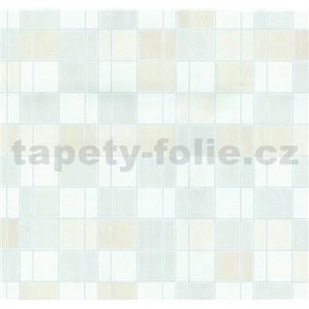 Vliesové tapety na zeď Easy Wall obklad kachličky béžové, krémové, bílé