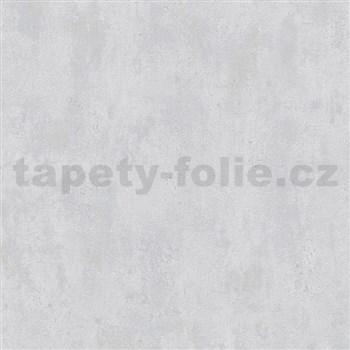 Vliesové tapety na zeď Ella beton světle šedý