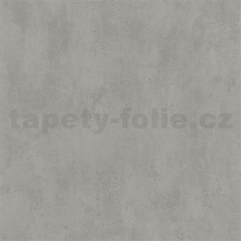 Vliesové tapety na zeď Ella beton hnědý