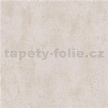 Vliesové tapety na zeď Ella beton světle hnědý