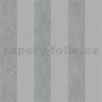 Vliesové tapety na zeď Ella pruhy šedé