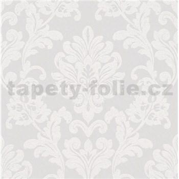Vliesové tapety na zeď Ella zámecký vzor bílý