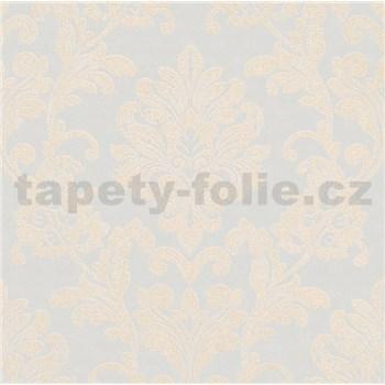 Vliesové tapety na zeď Ella zámecký vzor krémový