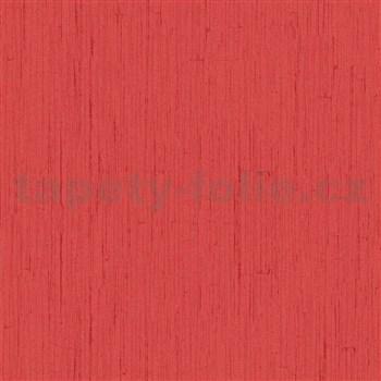 Vliesové tapety na zeď Ella strukturovaná omítka červená