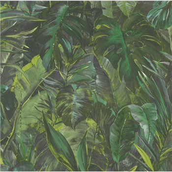 Vliesové tapety IMPOL Instawalls 2 velké listy zelené